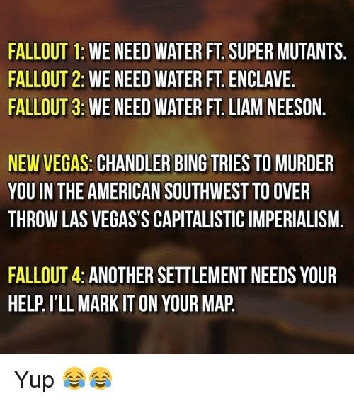 Don T Agree With The 2nd One But Still Funny Fallout Quotes Fallout Funny Fallout Meme