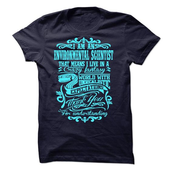 i am ENVIRONMENTAL SCIENTIST T-Shirts, Hoodies. BUY IT NOW ==►…