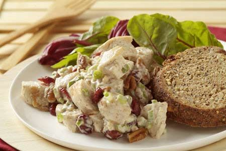 Warm Chicken-Pecan Salad recipe