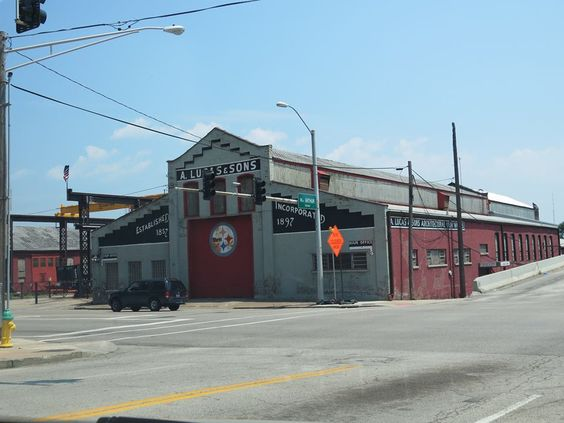 A. Lucas & Sons. Established 1857. Incorporated 1897. Steel Fabricators.