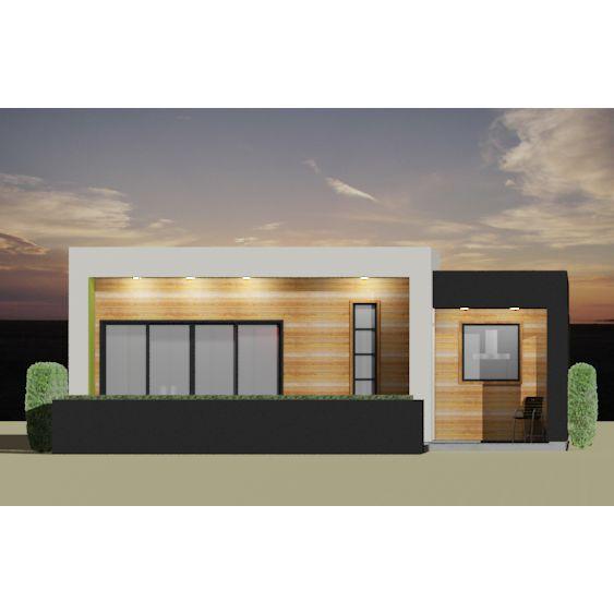 . Modern 2 Bedroom House Plan   Bedrooms  Modern and Bedroom modern