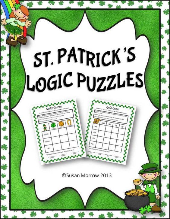 beginning logic puzzles grades 1 3 my kids love these. Black Bedroom Furniture Sets. Home Design Ideas