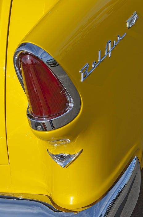 1955 Chevrolet Nomad Taillight Photograph by Jill Reger -