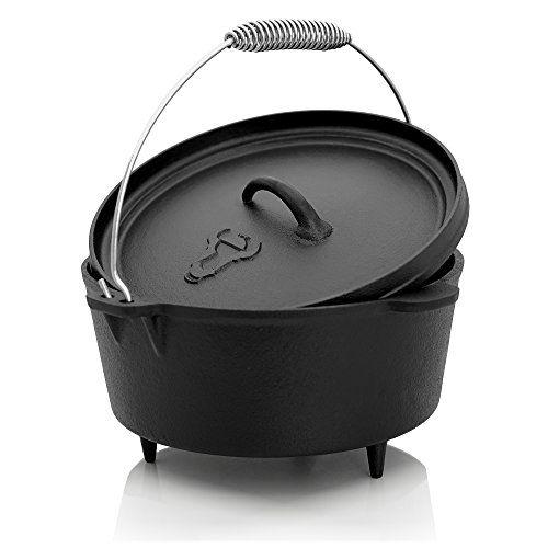 Was Ist Der Dutch Oven Ein Schwerer Traditioneller Gusseiserner Topf Und Ein Exakt Passender Deckel Mit D Outdoor Cooking Pot Outdoor Cooking Dutch Oven