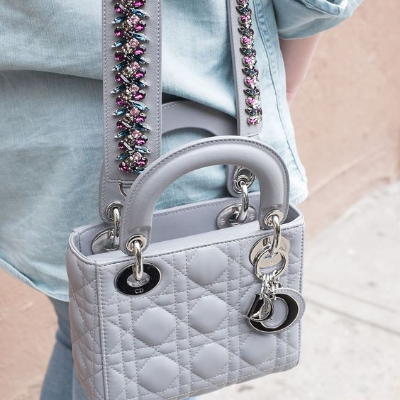 Latest Obsession: Dior's Mini Lady Dior Bag and Embellished Strap: