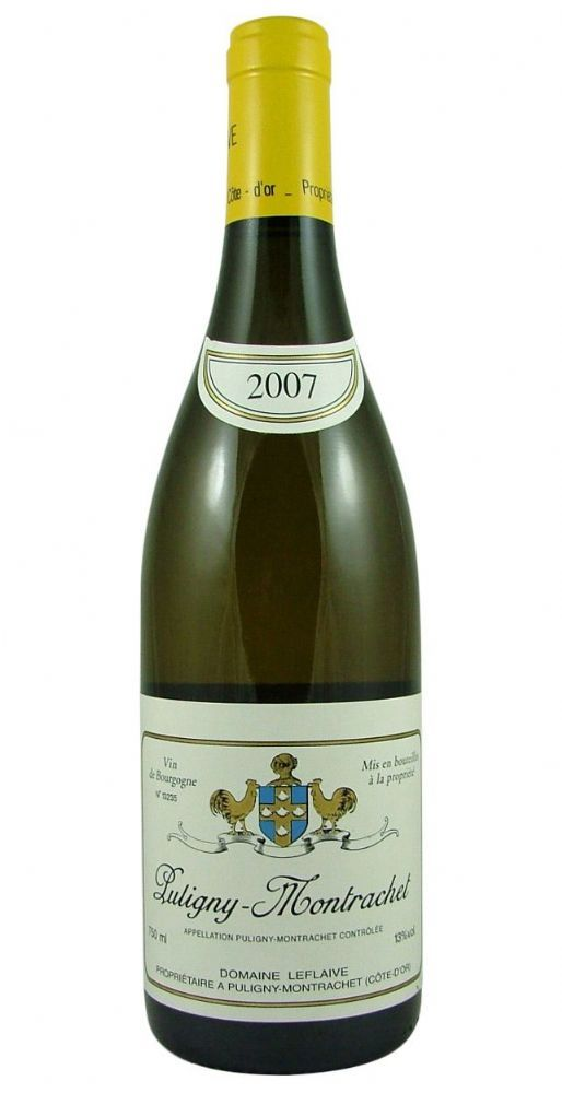 Puligny-Montrachet 2007 Leflaive from Burgundy Wine Cellar.