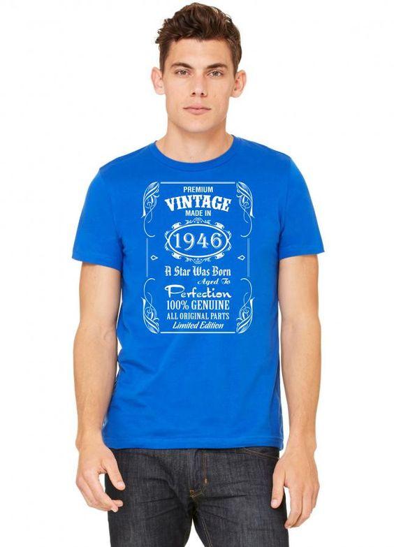 premium vintage made in 1946 1 Tshirt