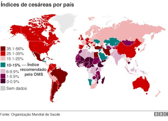'Epidemia' de cesáreas: por que tantas mulheres no mundo optam pela cirurgia? - BBC Brasil