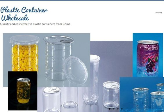 We are professional plastic container manufacturer located in east China. We provide top quality plastic container wholesale to customers all over the world. Our products include PET plastic pop cans, plastic cans, plastic bottles. Plastic-container.org
