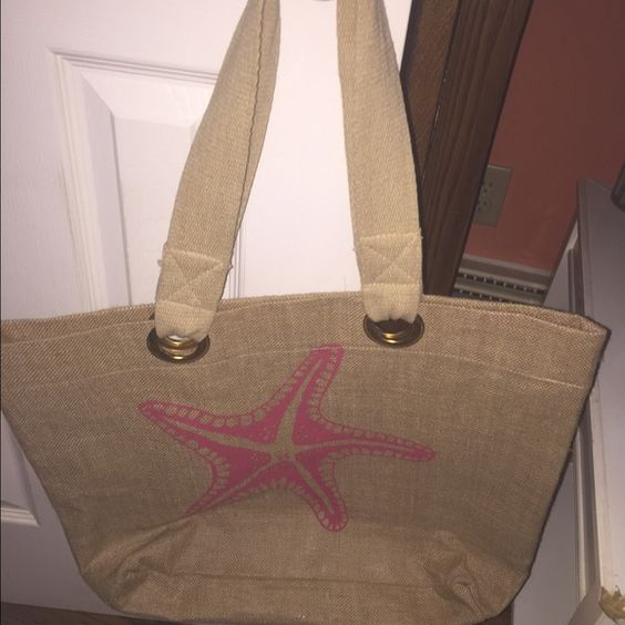 Starfish Beach Bag Brand new never used! Accessories