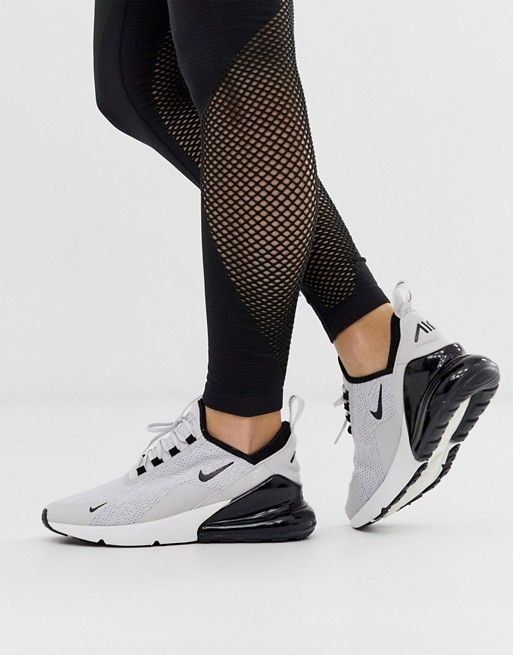 aceptable Paternal Permanece  Nike white and gray air max 270 sneakers | ASOS | Gray nike shoes, Womens  sneakers, White nikes