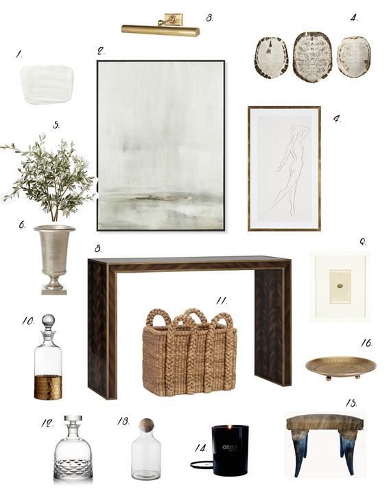 Elements of Style Entryway Formula! I love Erin Gates. SImple, easy blueprint for creating an entryway decor from scratch