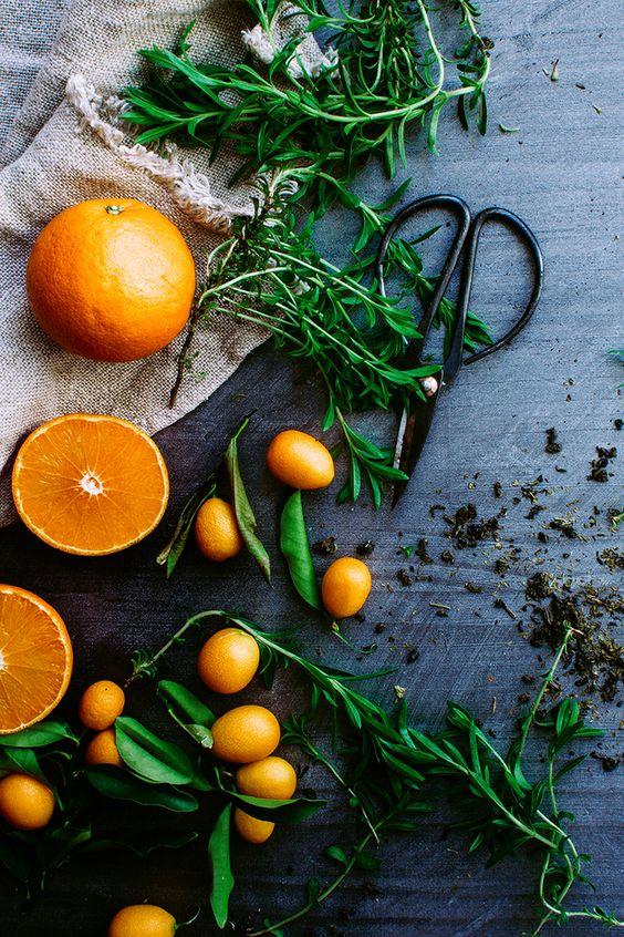 Art culinaire - Orange [ Food Photography Food Styling ] #huileessentielle #orange #petitgrainbigaradier