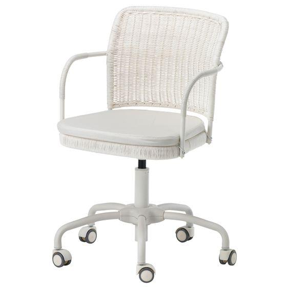 gregor swivel chair vittaryd white vittaryd light beige chairs ikea ikea white