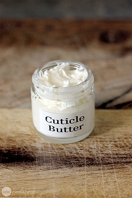 "Try our homemade ""cuticle butter"" to heal and soften painful cracks safely and naturally."