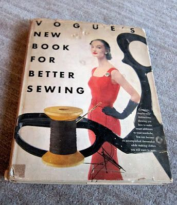 Vogue's New Book for Better Sewing -- I got my greedy mitts on a copy!