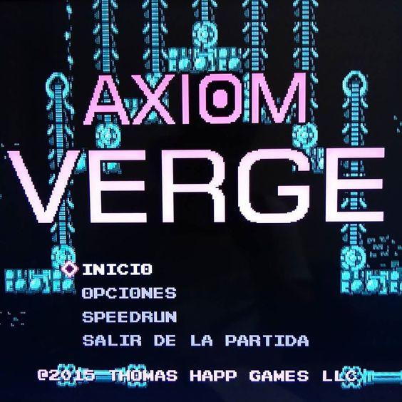 On instagram by camyzeta #8bits #microhobbit (o) http://ift.tt/1OGVmBa Verge  un juego indie  independiente con estilo clásico 2d de 8 bits multicapa  música de 8 bits y jugabilidad tipo Metroid. De exploración no lineal. Pinta muy bien este juego creado por #thomashapp #thomashappgames #pc #gamer #game #videogame #videojuego #juego #pcgamer #amd #nvidia #gtx #juego #xbox360 #xboxone #axiom #verge #axiomverge #axiomvergepc #indie #indiegame