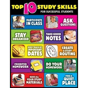Worksheet Study Skills Worksheets For Middle School student top ten and poster on pinterest study skills for successful students cheap chart http