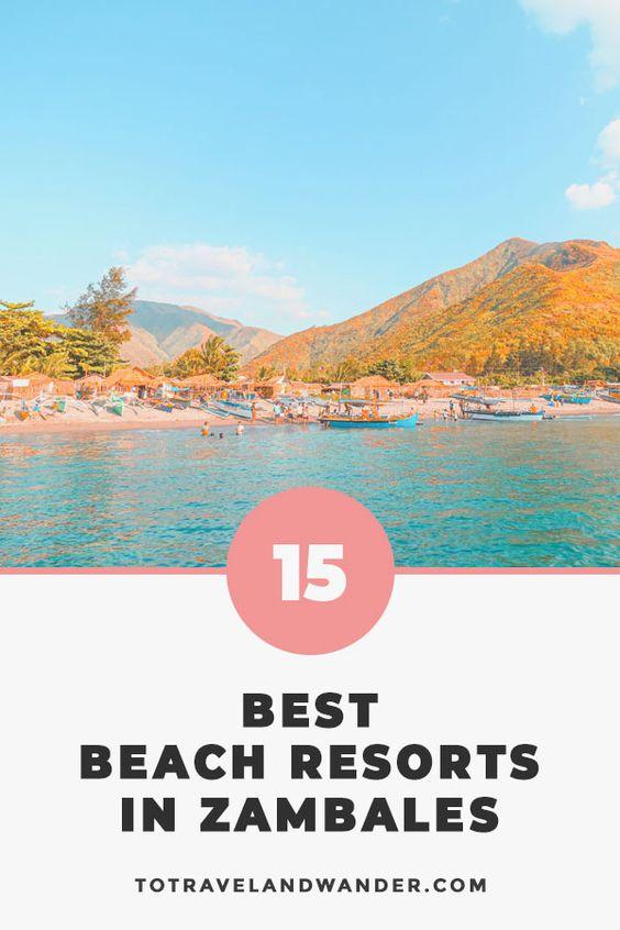 15 Best Beach Resorts in Zambales