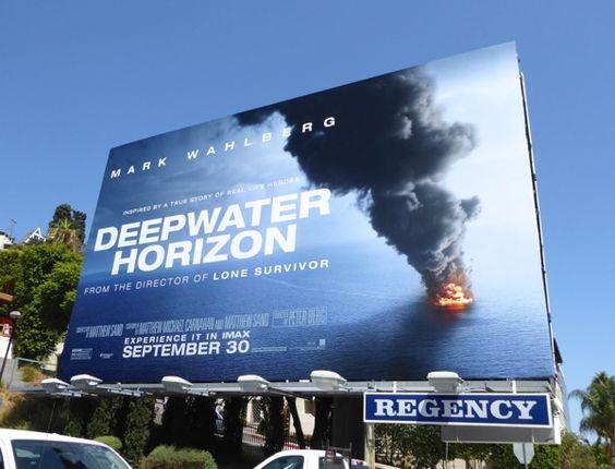 Deepwater Horizon movie billboard