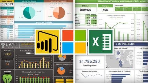 Curso Excel Y Power Bi Analisis Y Visualizacion De Datos Udemy Coupon Microsoft Excel Free Learning Excel Formula