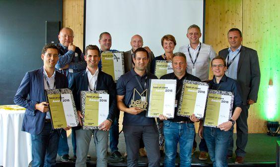 """""""Best of Class""""-Award für besonders innovativen Hochwasserschutz"""