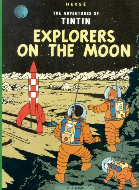 The graphics in the Tintin books