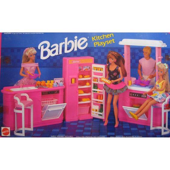 meubles de cuisine de barbie
