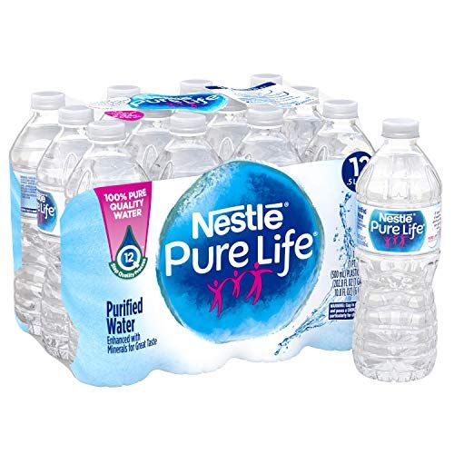 Nestle Pure Life Purified Water 16 9 Fl Oz Plastic Bottles 12 Count Nestle Pure Life Pure Life Water Nestle Water