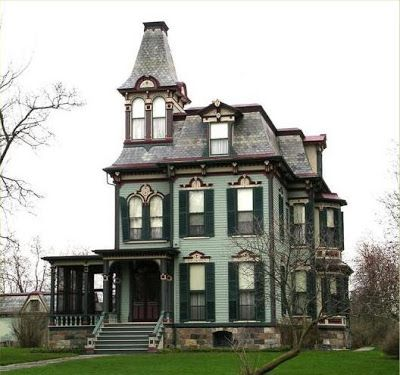 Old haunted houses old haunted victorian house cool for Victorian house facts