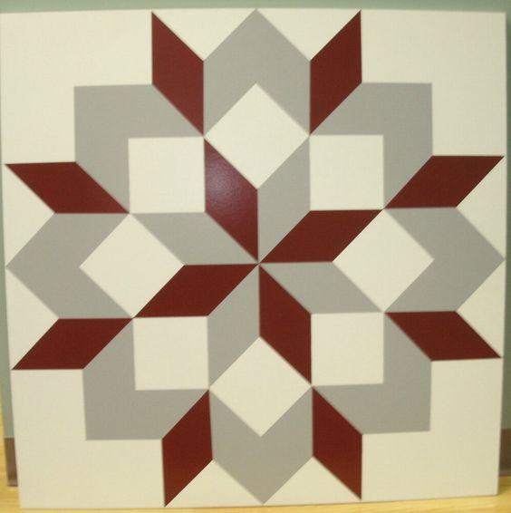 Barn Quilt Custom Design, Custom Colors
