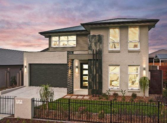 Masterton home designs villina metro lhs facade visit for Masterton home designs