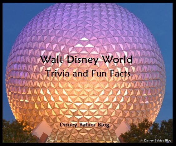 Disney Basics - some need to know facts for planning trips