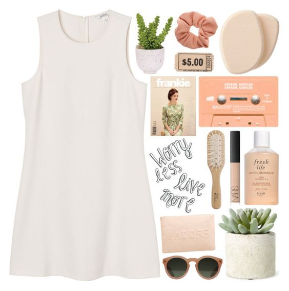 """""""87 ; TOP SET ♡ worry less, live more"""" by faith-and-metanoia ❤ liked on Polyvore featuring Monki, Allstate Floral, Lux-Art Silks, GANT, Clé de Peau Beauté, Fresh, Dorothy Perkins, Miss Selfridge, NARS Cosmetics and Philip Kingsley"""