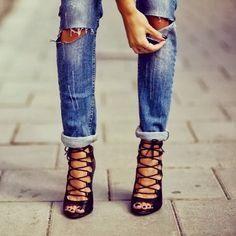 Ripped Denim Jeans a #running #runningmen #menfitness #runningtees #runningwear #runningwatch #runningwatches #sportswatches #sportsmenwatches #menwatches