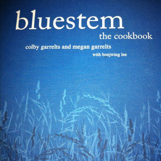 Bluestem Kansas City cookbook
