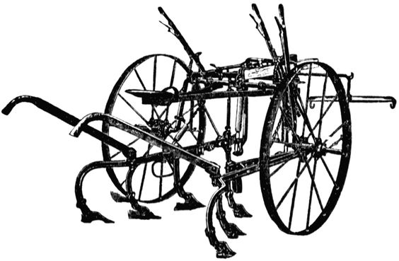 Cultivator, riding
