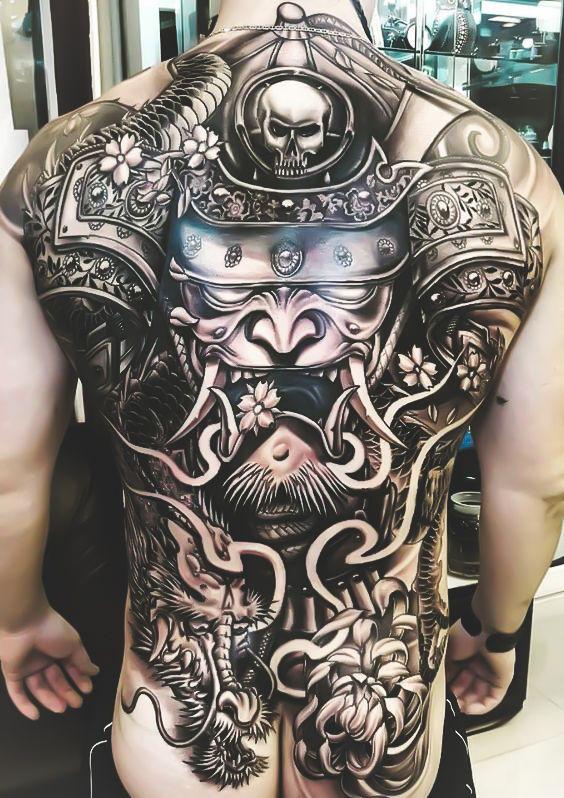 Epingle Par Supashok Benz Sur Hommes Tatoues Tatouage Samourai Tatouage Homme Tatouage Japonaise