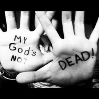 Meu Deus vive eternamente. .. #MeuDeusnãoestámorto                                              D.