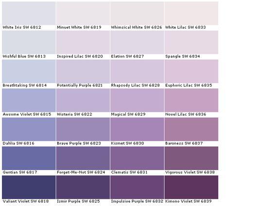 paint color chart izmir google purple paint colors paint colors color. Black Bedroom Furniture Sets. Home Design Ideas