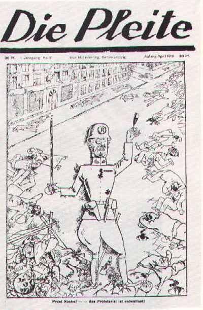 DIE PLEITE, numéro 3, avril 1919