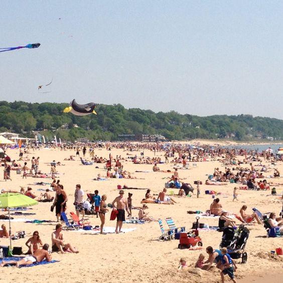 Grand Haven, Mi.  Beach.  Nice!