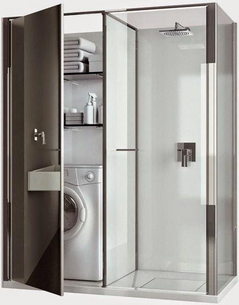 Lavanderia E Banheiro Juntos Como Resolver Arquitetando