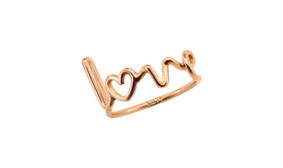 Love written ring