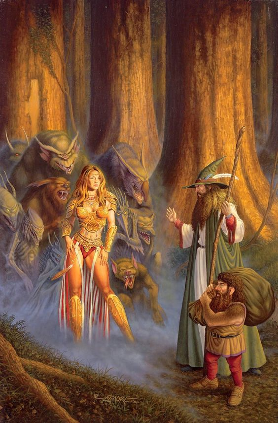 meanwhilebackinthedungeon: – Larry Elmore: