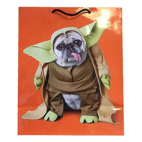 Large Pug Star Wars Gift Bag For All Occasions Available At Www