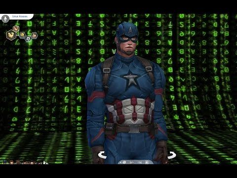 Marvel's Captain America Civil War in The Sims 4 Mods July 10 2016