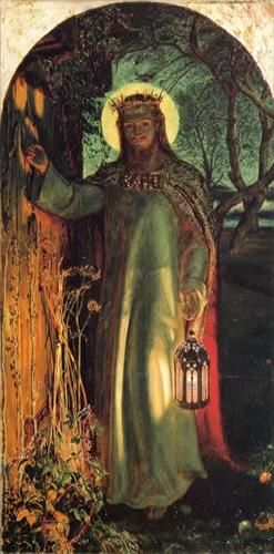 Image result for painting behold i stand at the door and knock
