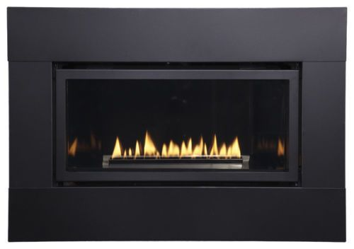 American Hearth Loft Small Linear Gas Fireplace With Images