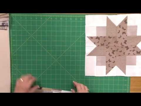 How to Make the Nature's Stars Quilt - YouTube